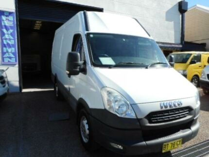 2012 Iveco Daily MY12 35S15 MWB/MID White 6 Speed Automated Manual Van