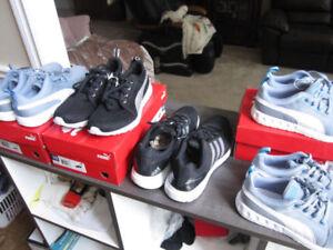 Running shoes, Adidas, Reebok and Puma, brand new -- $35.00 ea