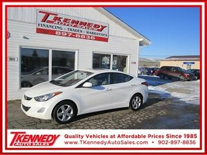 2013 HYUNDAI ELANTRA GLS  SUNROOF/BLUETOOTH ONLY $9,877.00
