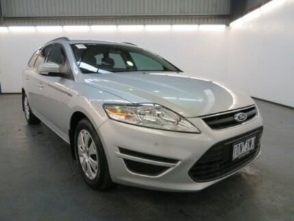 2014 Ford Mondeo MC LX Tdci Moondust Silver 6 Speed Direct Shift Wagon Albion Brimbank Area Preview