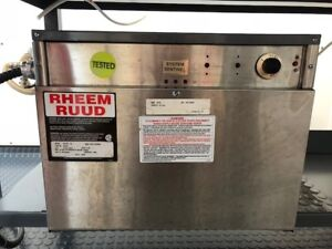 BRASSEUR/BREWER - RHEEM RUUD BOOSTER WATER HEATER
