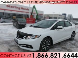 2014 Honda Civic TOURING | 1 OWNER | NAVIGATION