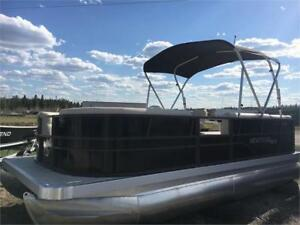 ! 2018 MONTEGO BAY FISH & CRUISE DELUXE 18 ! STUNNING PONTOON