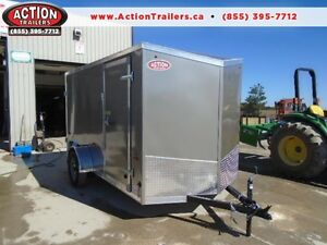 2017 6X12 V-NOSE HAULIN CARGO - GREAT TRAILER, LOW PRICE!!