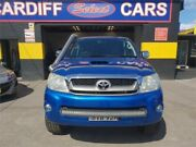 2011 Toyota Hilux KUN26R MY11 Upgrade SR5 (4x4) Blue 5 Speed Manual Dual Cab Pick-up Cardiff Lake Macquarie Area Preview
