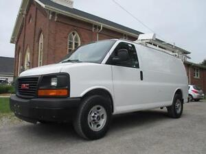 2011 GMC Savana Cargo Van EXTRA CLEAN+ROOF RACK & SHELVES