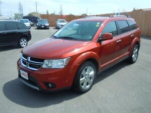 2012 DODGE JOURNEY HEATED LEATHER SEATS, REAR VIEW CAMERA, BACKU