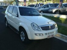 2004 Ssangyong Rexton Y220 Sports Plus White 5 SPEED Semi Auto Wagon Greenslopes Brisbane South West Preview