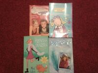 4 Girls' books (Sold as bulk but message for individual sale)