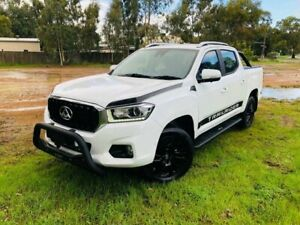 2019 LDV T60 MY17 Luxe (4x4) White 6 Speed Direct Shift Double Cab Utility Kenwick Gosnells Area Preview