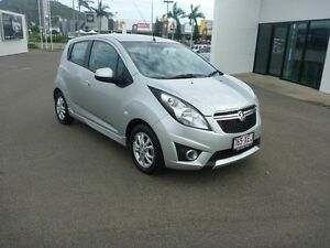 2015 Holden Barina Spark MJ MY15 CD Silver 4 Speed Automatic Hatchback Garbutt Townsville City Preview