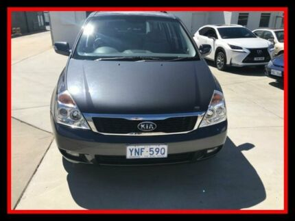 2012 Kia Grand Carnival VQ MY13 SI Grey 6 Speed Sports Automatic Wagon Fyshwick South Canberra Preview