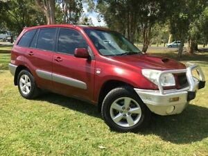 2005 Toyota RAV4 ACA23R CV (4x4) Red 5 Speed Manual Wagon Lismore Lismore Area Preview