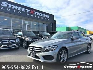 2015 Mercedes-Benz C400|NAVIGATION|BACKUP CAM|KEYLESS|SUNROOF