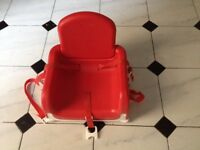 Lindam baby booster seat £10
