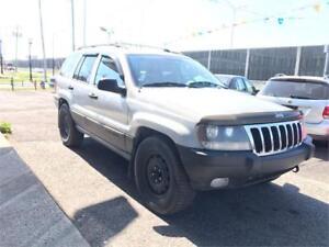 2003 Jeep Grand Cherokee Laredo  4X4   CUIR   PNEUS HIVER