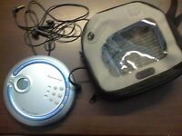 panasonic pers cd player as new but unboxed