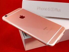 iphone 6splus rose gold 128gb