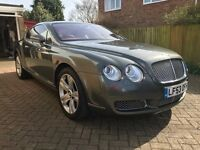 Bentley GT Continental, 2004, 6 Litre Twin-Turbo, FSH, An Awesome Car!