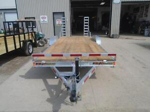 PROFESSIONAL SERIES 7X18 GALVANIZED EQUIPMENT TRAILER N&N London Ontario image 3
