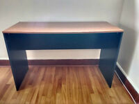 Free wooden desk and computer chair