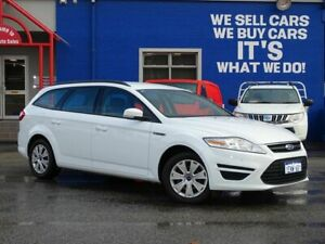 2014 Ford Mondeo MC LX PwrShift TDCi White 6 Speed Sports Automatic Dual Clutch Wagon Welshpool Canning Area Preview