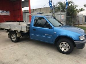 2002 Holden Rodeo TF MY02 LX Blue 5 Speed Manual 2d Cab Chassis Clontarf Redcliffe Area Preview