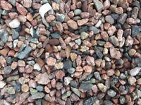 Pink Granite Chippings