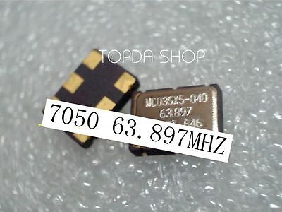 used 1pc  VCXO MC035X5-040 63.8976MHZ 7050 63.897MHZ