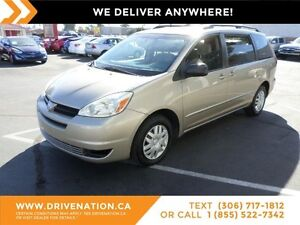 2004 Toyota Sienna CE 7 Passenger FAMILY SIZE! RELIABLE BRAND...