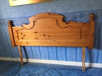 Pine Headboard - King Size