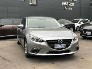 2014 Mazda 3 BM Neo Silver 6 Speed Automatic Hatchback Burwood Whitehorse Area Preview