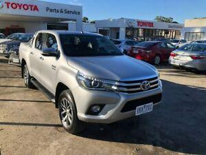 2017 Toyota Hilux GUN126R SR5 Double Cab Silver 6 Speed Sports Automatic Utility Croydon Maroondah Area Preview