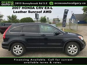 2007 Honda CR-V EX-L Leather, Sunroof,