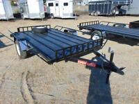 2016 Mirage 6X10 UTV/ATV Utility Trailer with Ramps and Spare Ti