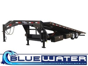 14,000lb GOOSENECK EQUIPMENT TILT DECK- LIMITED TIME DISCOUNTS! London Ontario image 1