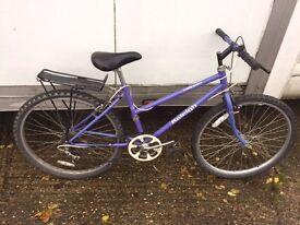 Cheap ladies Raleigh mountainbikes £25 each