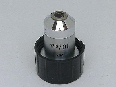 Leitz 170- 100.25 Microscope Objective 34a