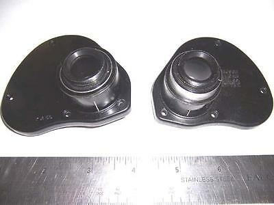 PAIR OF WWII BAUSCH & LOMB 7X50 PRISM COVERS/FOCUSING ASSEMBLY UNUSED! - Prism Assembly