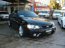 2007 Ford Falcon BF MkII XR6 Black 4 Speed Auto Seq Sportshift Sedan Holroyd Parramatta Area Preview