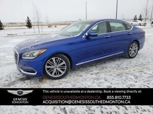2018 Genesis G80 3.8 Technology AWD (LOW KM, 2 sets wheels/tires
