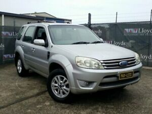2008 Ford Escape ZD Silver Automatic 4-Door Wagon Carrara Gold Coast City Preview