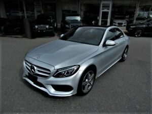 2015 Mercedes-Benz C-Class C300 4MATIC - RED INTERIOR
