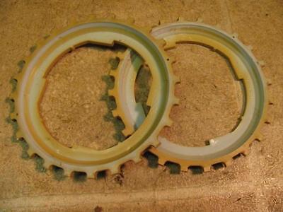2 John Deere B13-24 Corn Planter Plates Lustran Plastic 494 694 24b 25b 71