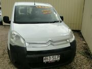 2012 Citroen Berlingo B9C L1 White Manual Van Parramatta Park Cairns City Preview