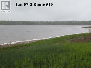 Beautiful waterfront lot on the Richibucto River. Build your dre