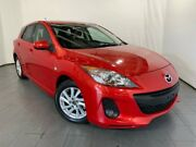 2012 Mazda 3 BL10F2 Maxx Activematic Sport Red 5 Speed Sports Automatic Hatchback Elizabeth Playford Area Preview