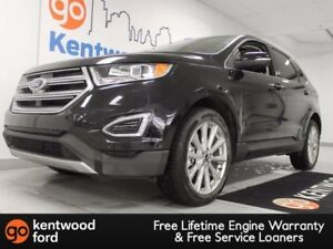 2017 Ford Edge Titanium AWD ecoboost with it all. NAV, sunroof,