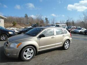 2009 DODGE CALIBER SXT, AUTOMATIC,- NICE GOLD COLOR