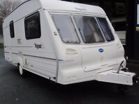 Bailey Pageant Two Berth Touring Caravan Plus Motor Mover